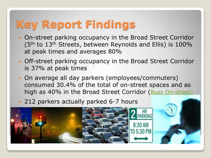 Key Report Findings