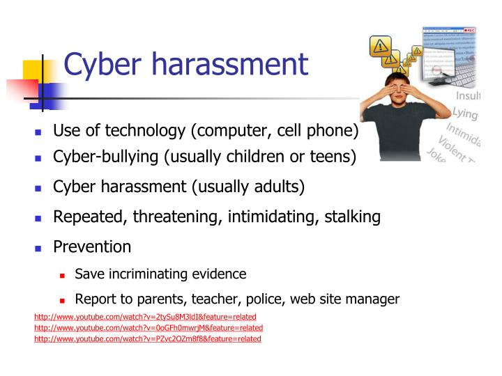 Cyber harassment