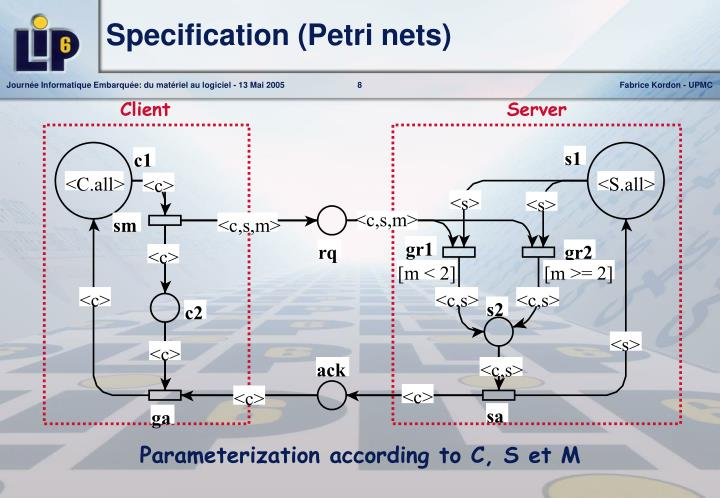 Specification (Petri nets)