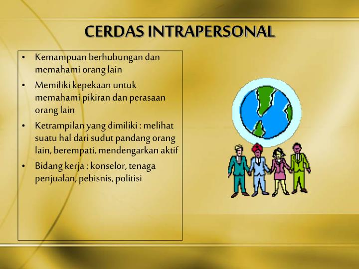 CERDAS INTRAPERSONAL