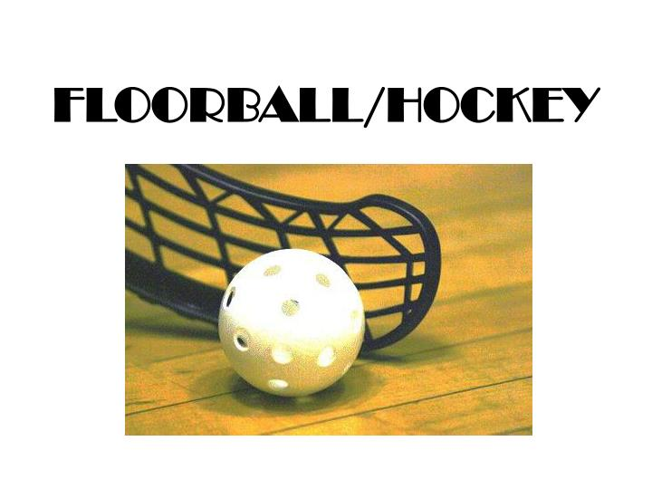 Floorball hockey