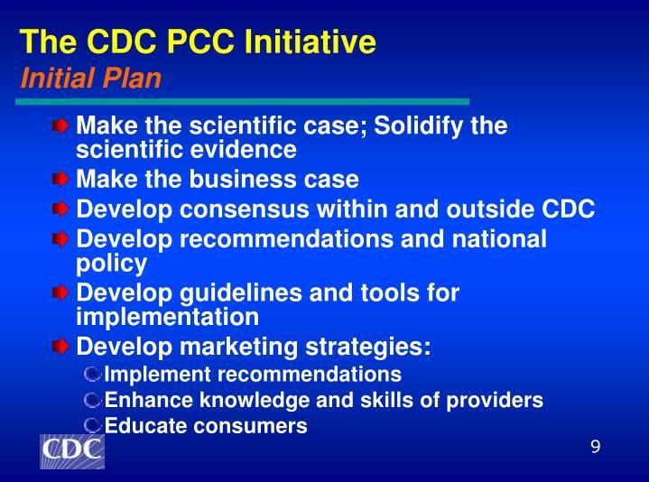 The CDC PCC Initiative