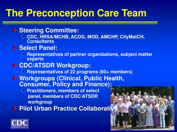 The Preconception Care Team