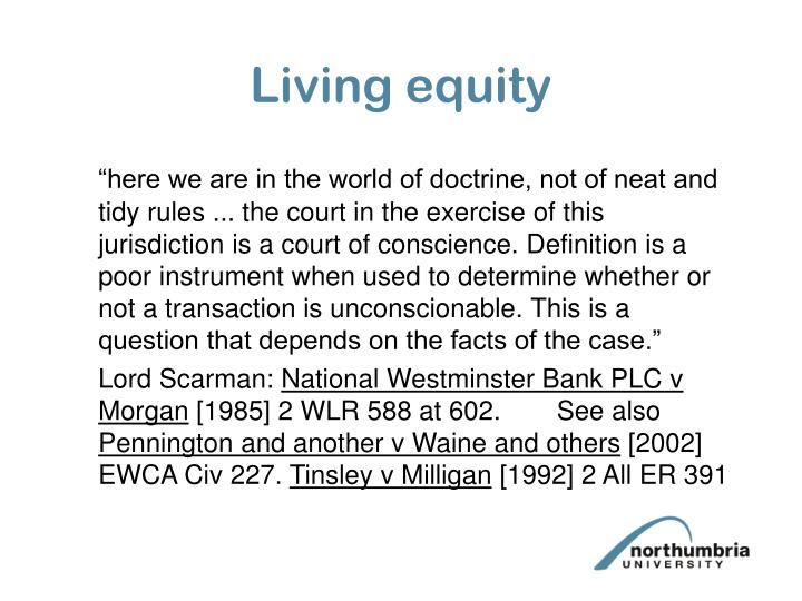 Living equity