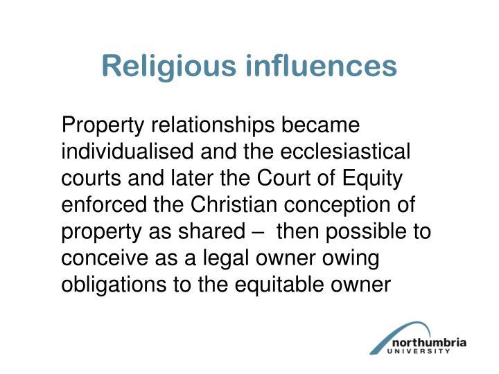 Religious influences