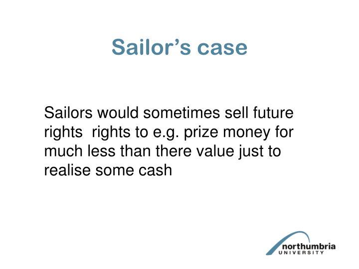 Sailor's case