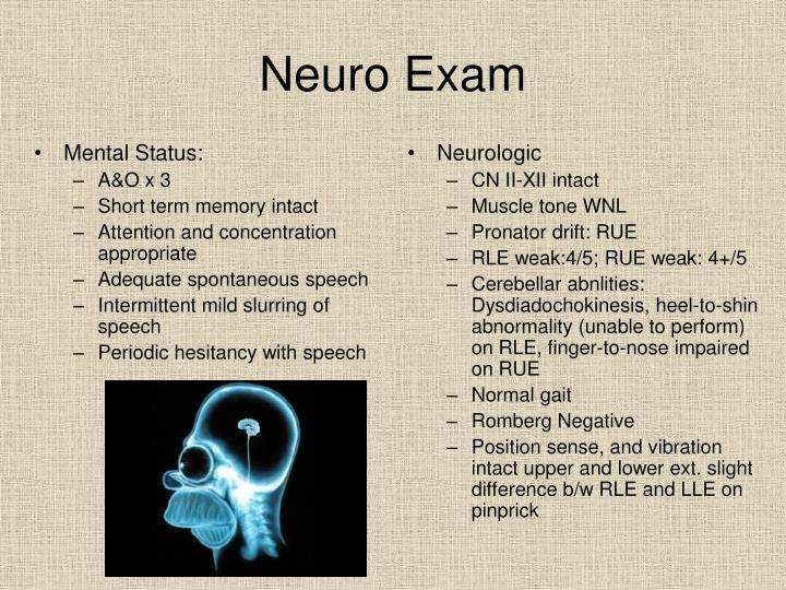 Mental Status: