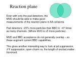 reaction plane
