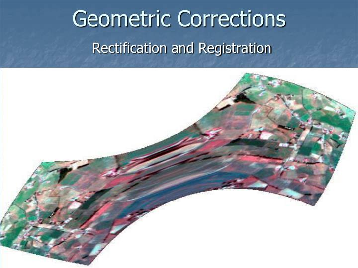 Geometric Corrections