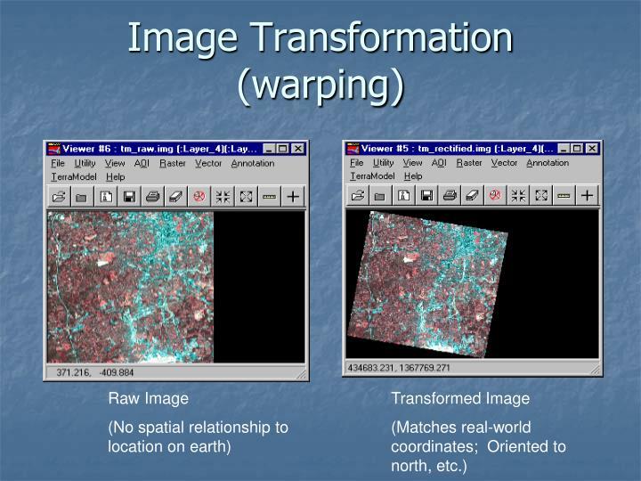 Image Transformation (warping)