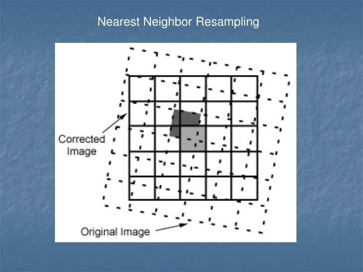 Nearest Neighbor Resampling