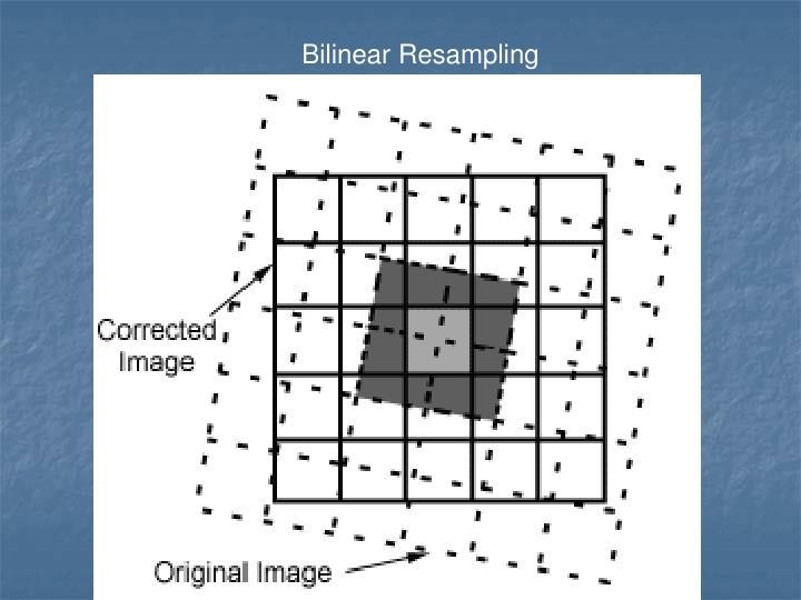Bilinear Resampling