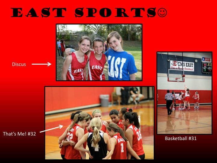 East sports