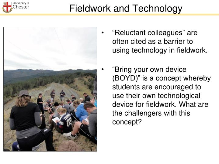 Fieldwork and Technology