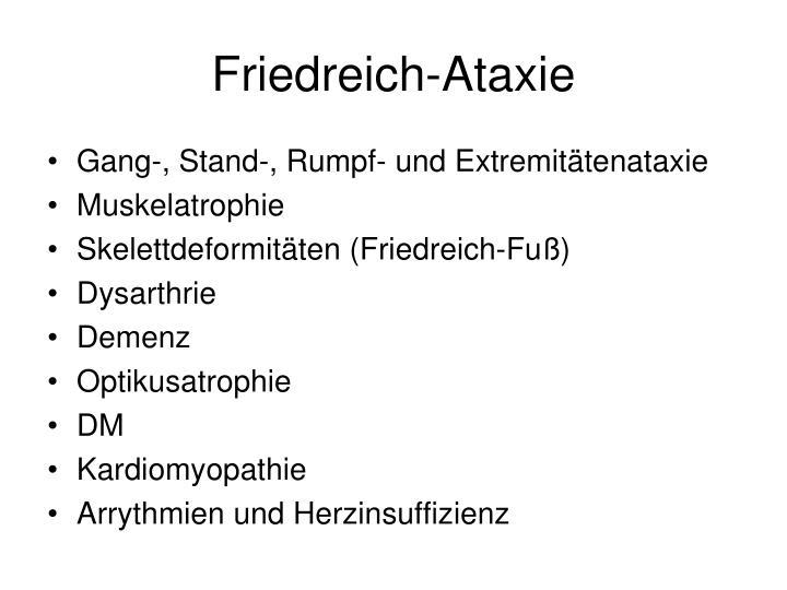 Friedreich-Ataxie