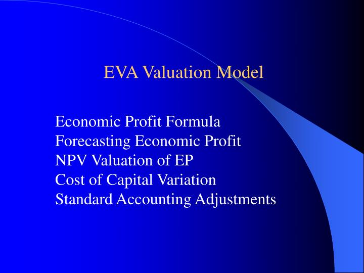 EVA Valuation Model