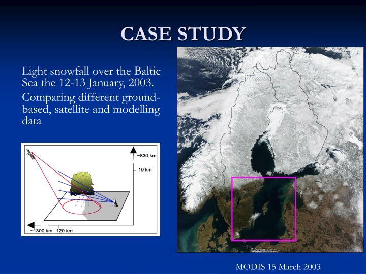 MODIS 15 March 2003
