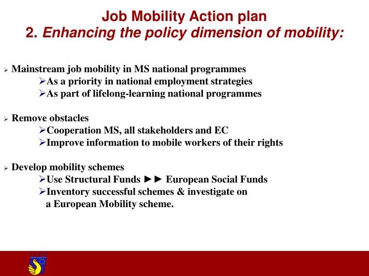 Job Mobility Action plan