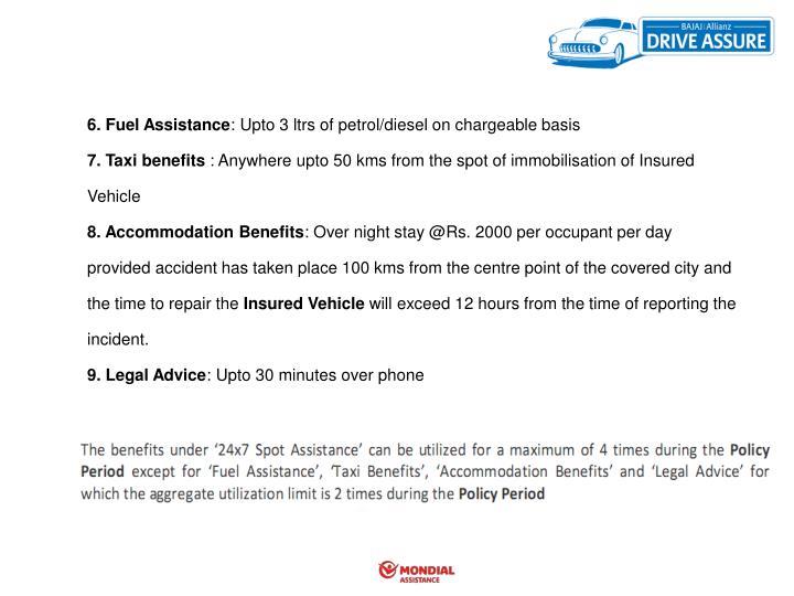 6. Fuel Assistance