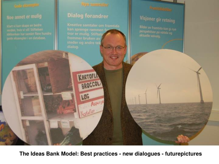 The Ideas Bank Model: Best practices - new dialogues - futurepictures