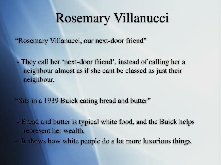 Rosemary Villanucci
