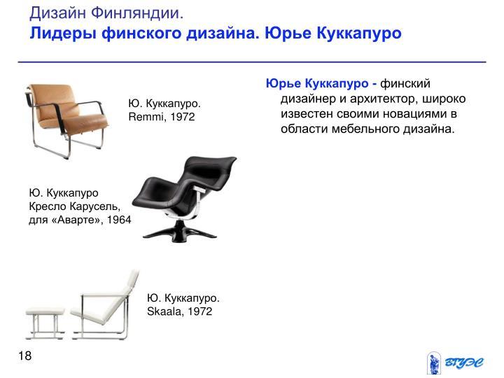 Дизайн Финляндии.