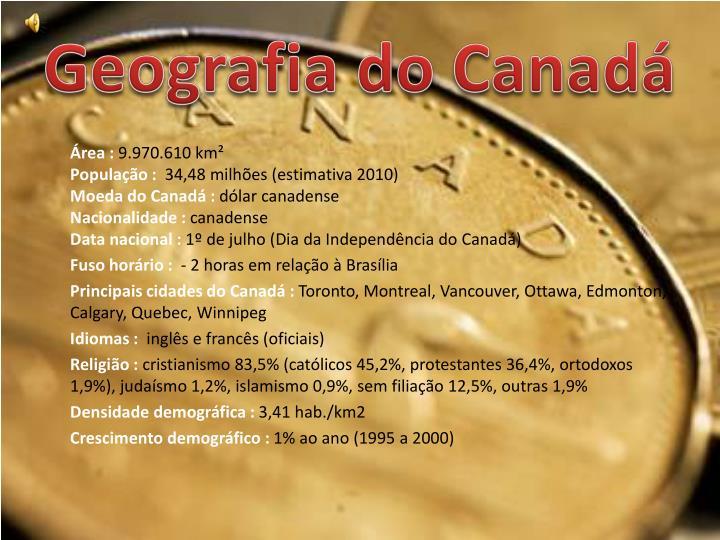 Geografia do Canadá