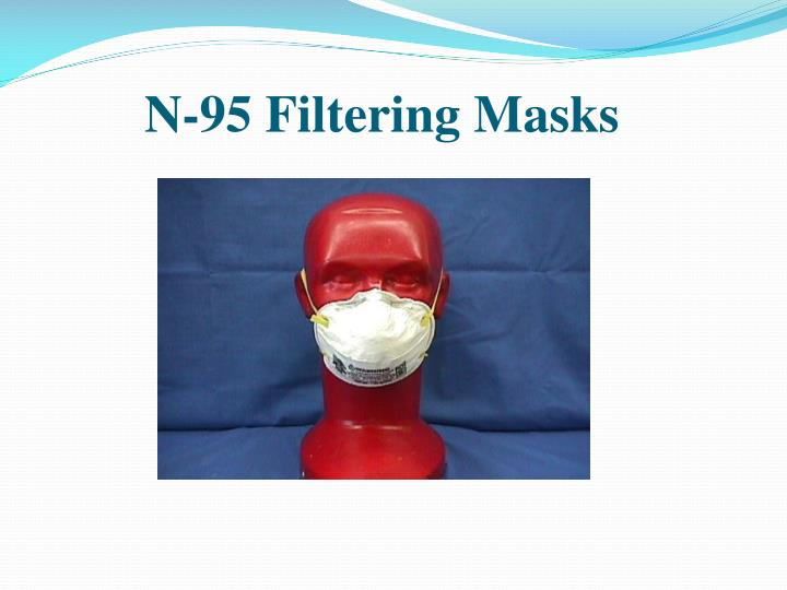 N-95 Filtering Masks