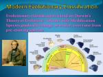 modern evolutionary classification1