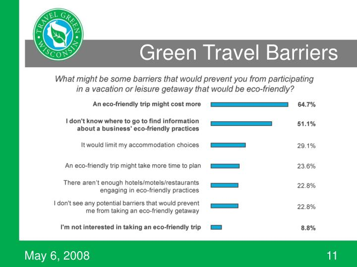 Green Travel Barriers