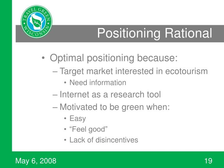 Positioning Rational
