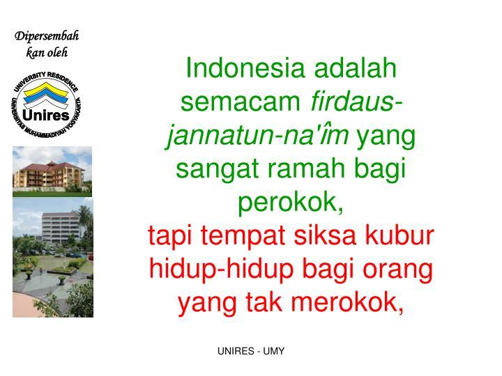 Indonesia adalah semacam