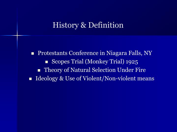 History & Definition