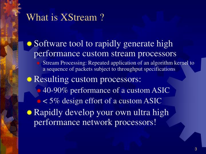 What is xstream