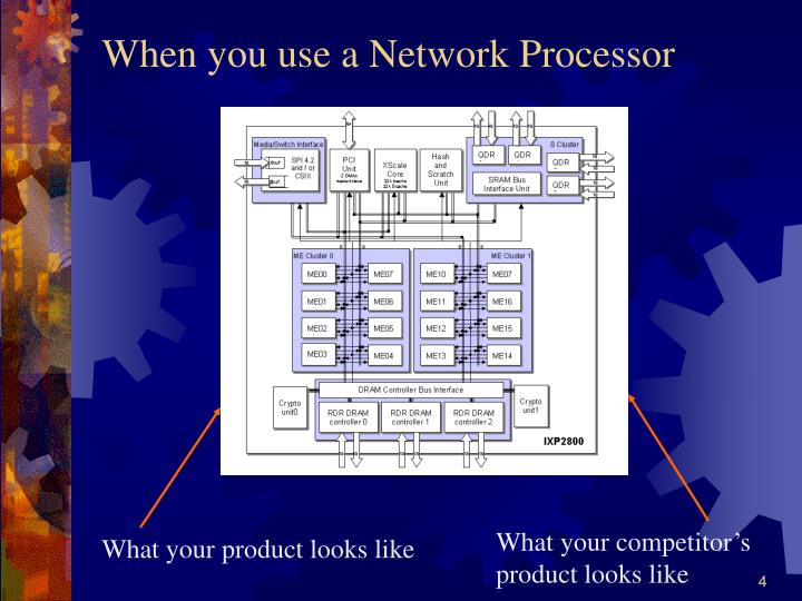 When you use a Network Processor