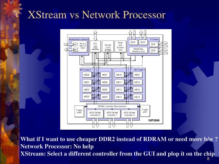 XStream vs Network Processor