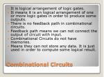 combinational circuits1