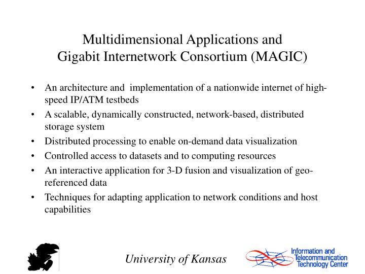 Multidimensional Applications and
