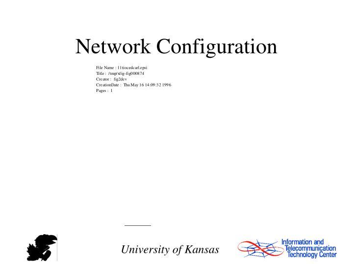 Network Configuration