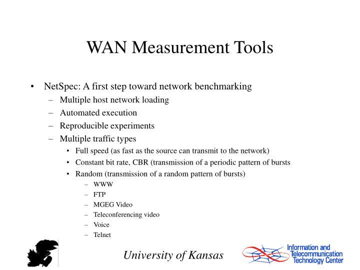 WAN Measurement Tools