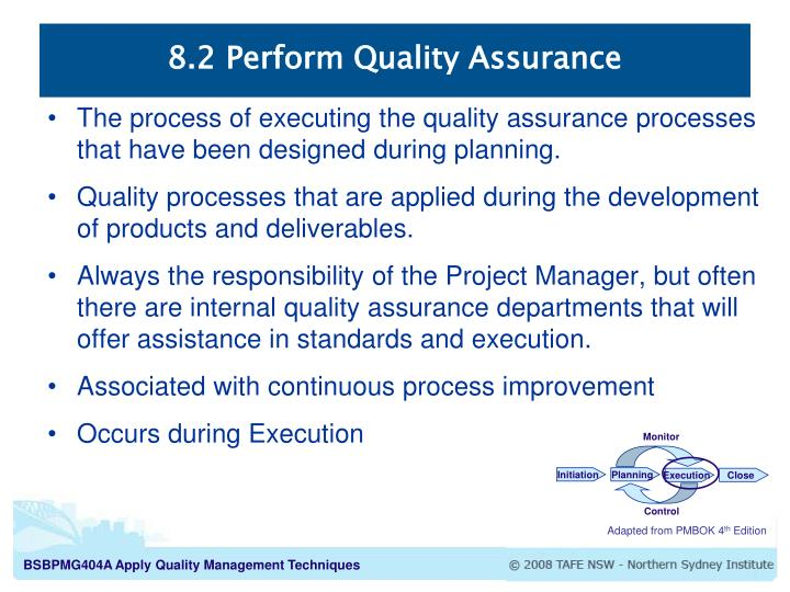 quality control in project management pdf