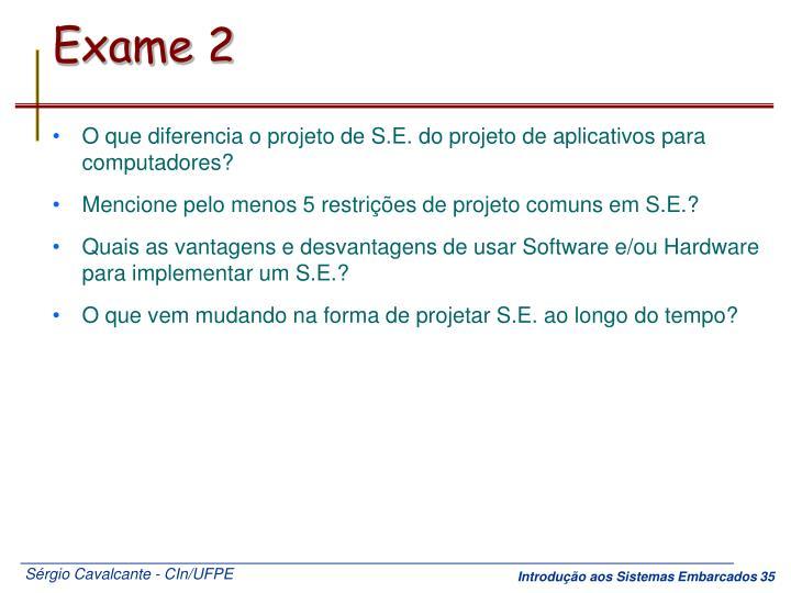 Exame 2
