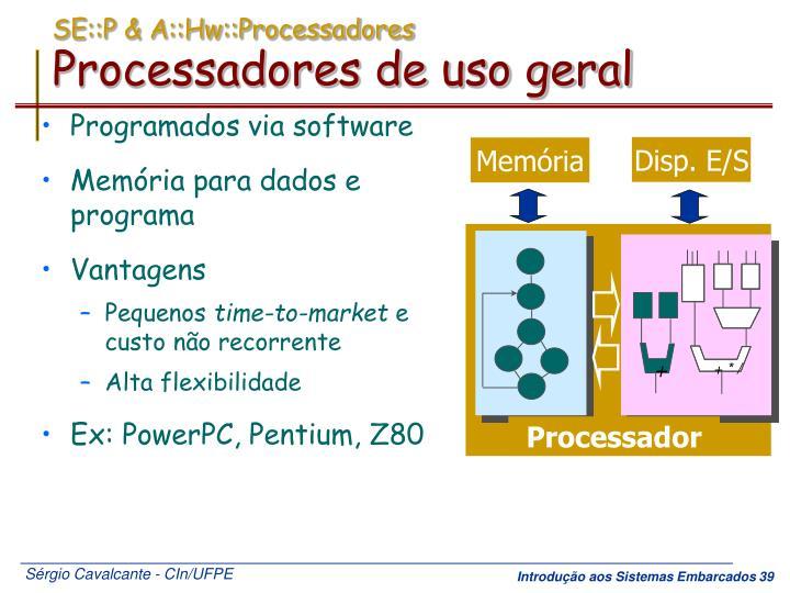 SE::P & A::Hw::Processadores