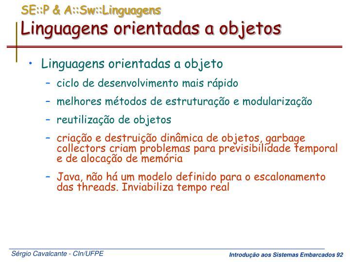 SE::P & A::Sw::Linguagens