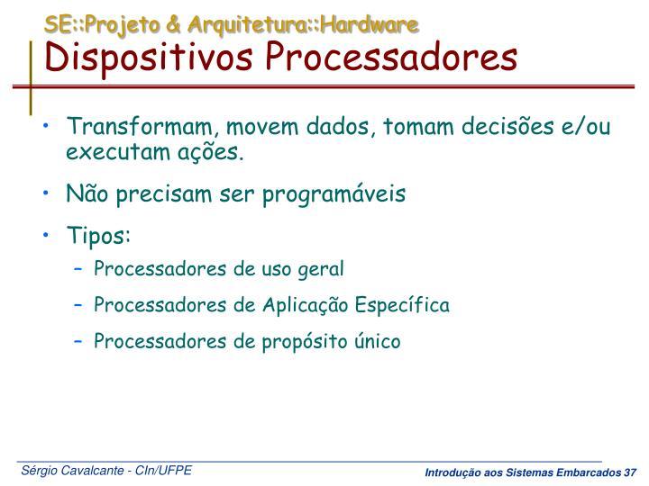 SE::Projeto & Arquitetura::Hardware
