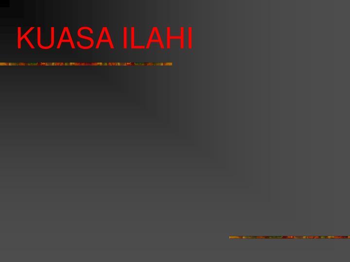 KUASA ILAHI
