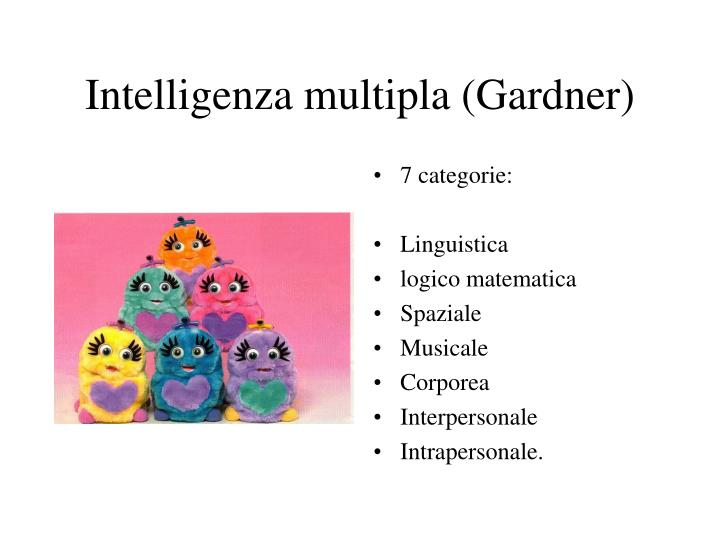 Intelligenza multipla (Gardner)