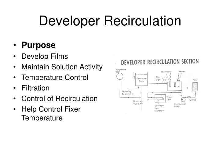 Developer Recirculation