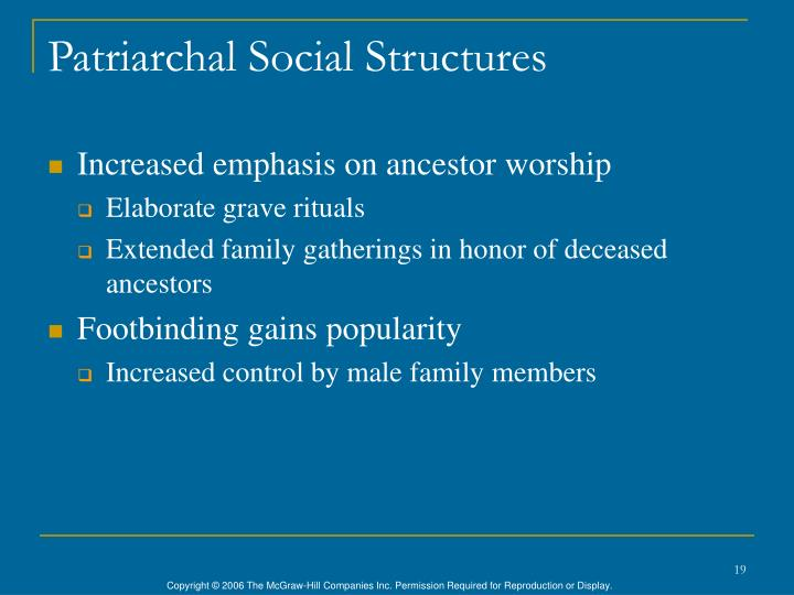 Patriarchal Social Structures