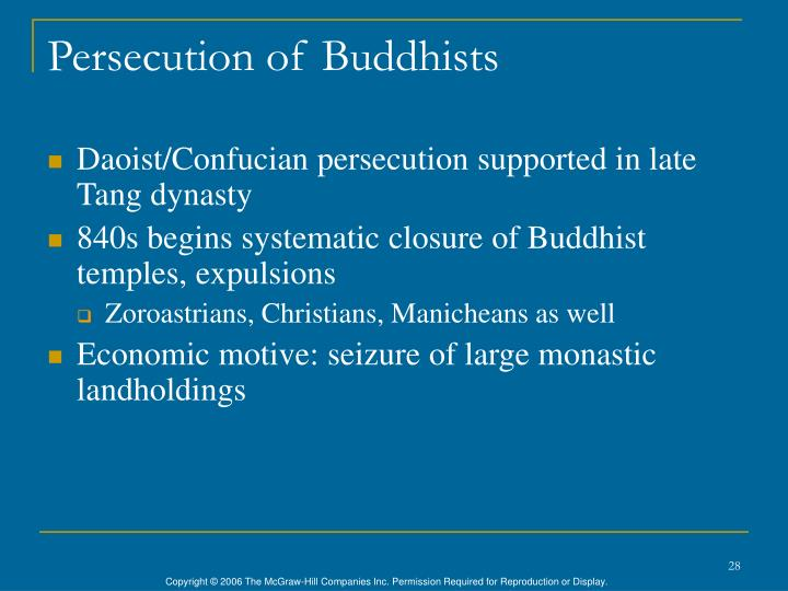 Persecution of Buddhists